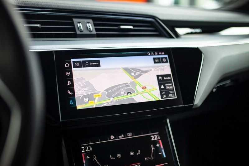 "Audi e-tron 55 Quattro *4% Bijtelling / Hulppakket Stad & Tour / 22"" / Topview* afbeelding 9"