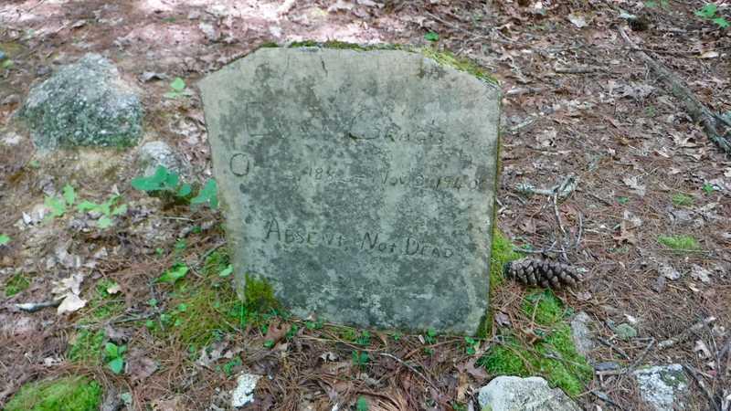 Eva Gragg's headstone