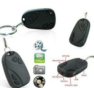 Spycam Gantungan Kunci / Kamera Tersembunyi