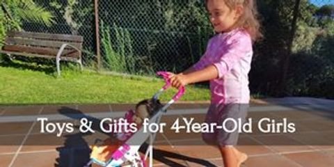 Make your four-year-old girl's day with this super fun gifts!