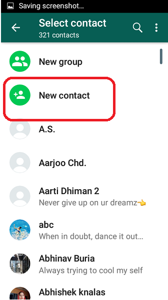 How to Sync Your Android Contacts with Whatsapp - Covve