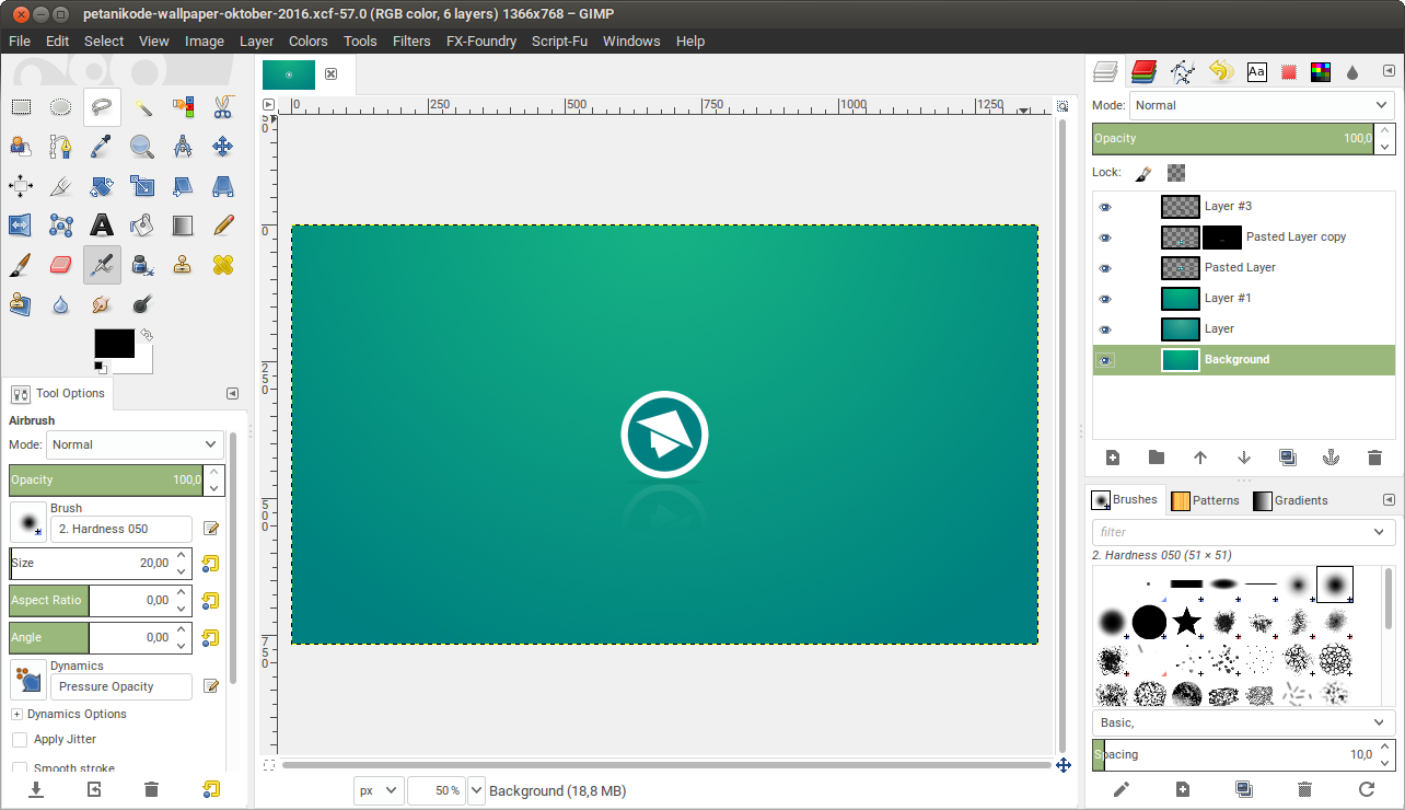 Gimp di Ubuntu