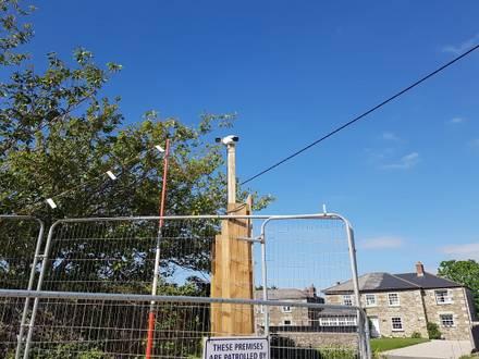 Building Site Perimeter Surveillance Cameras in the South West