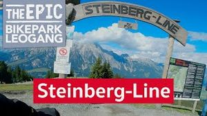 Steinberg Line | Flow Line im Bikepark Leogang