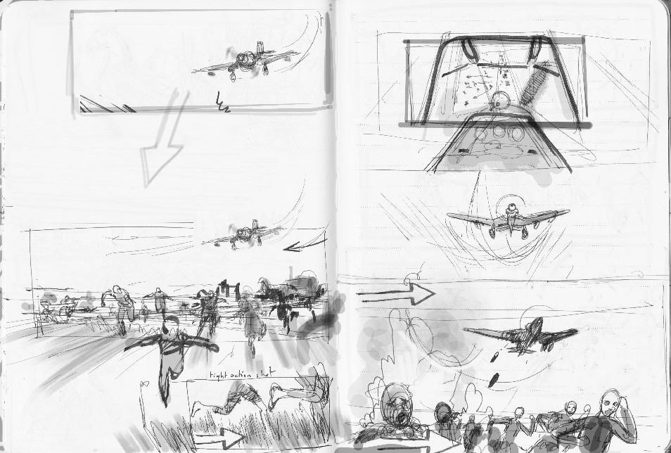 Suite Française first rough storyboard 06