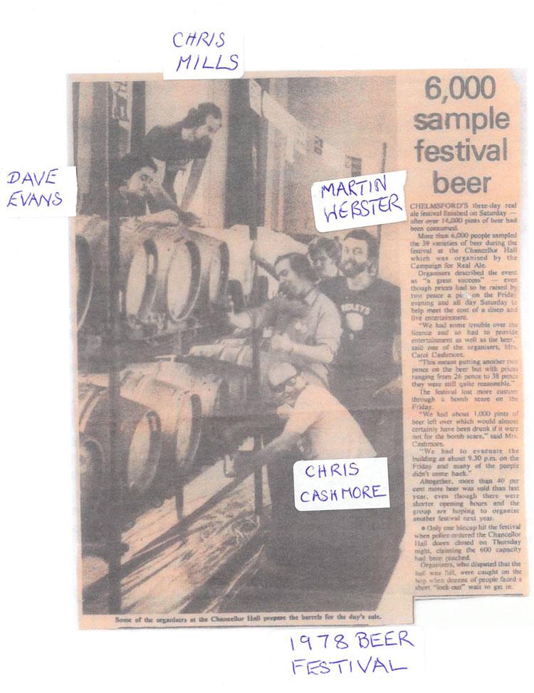 Summer Beer Festival 1978