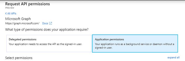 App Permissions Type