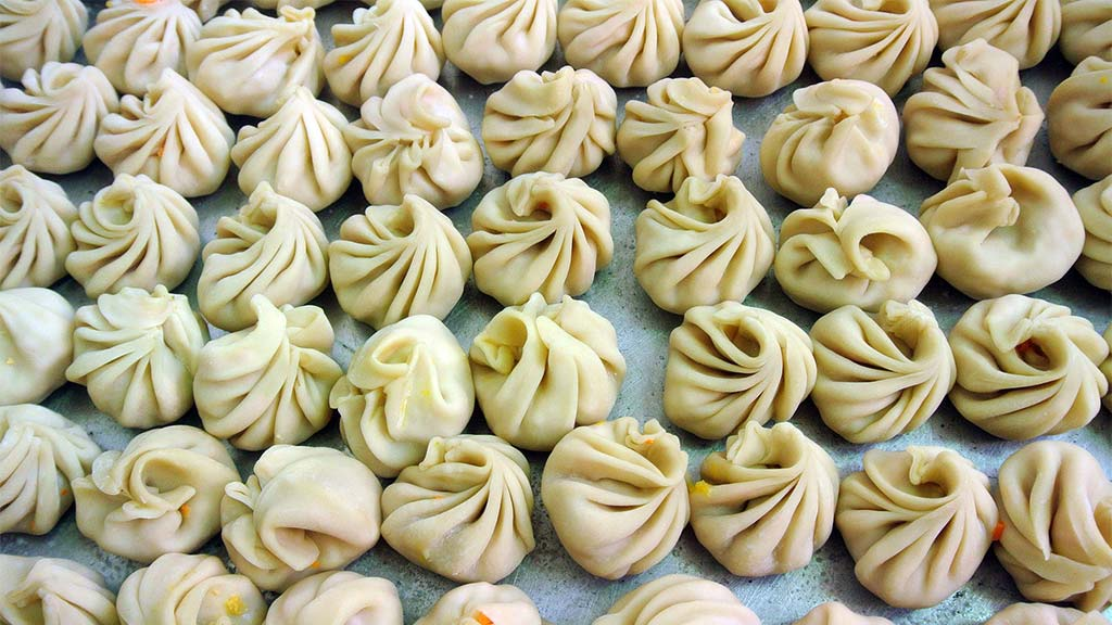 Delicious Nepalese dumplings