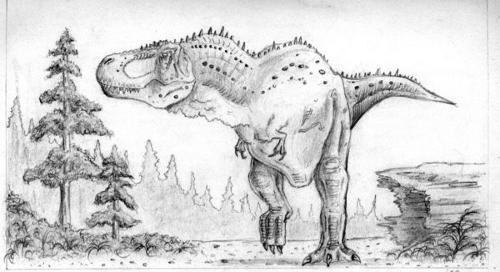 T-Rex Sketch