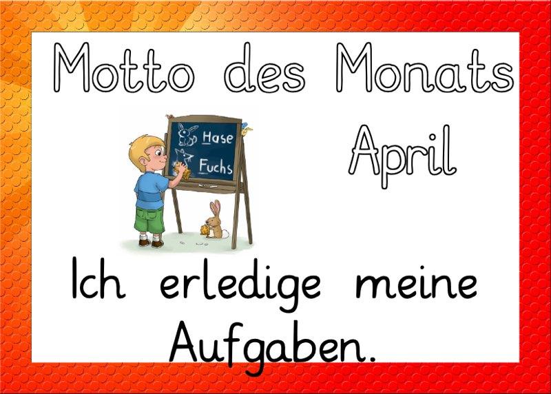 Motto des Monats März 2021