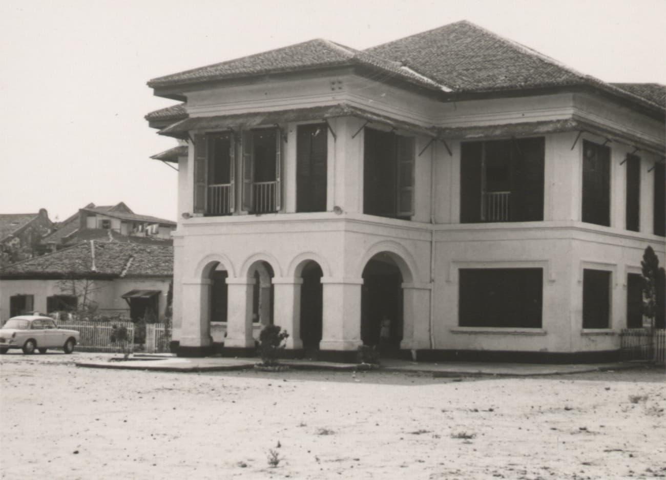 Istana Kampong Glam, 1960s