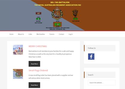 9/8 RAR Website Screenshot