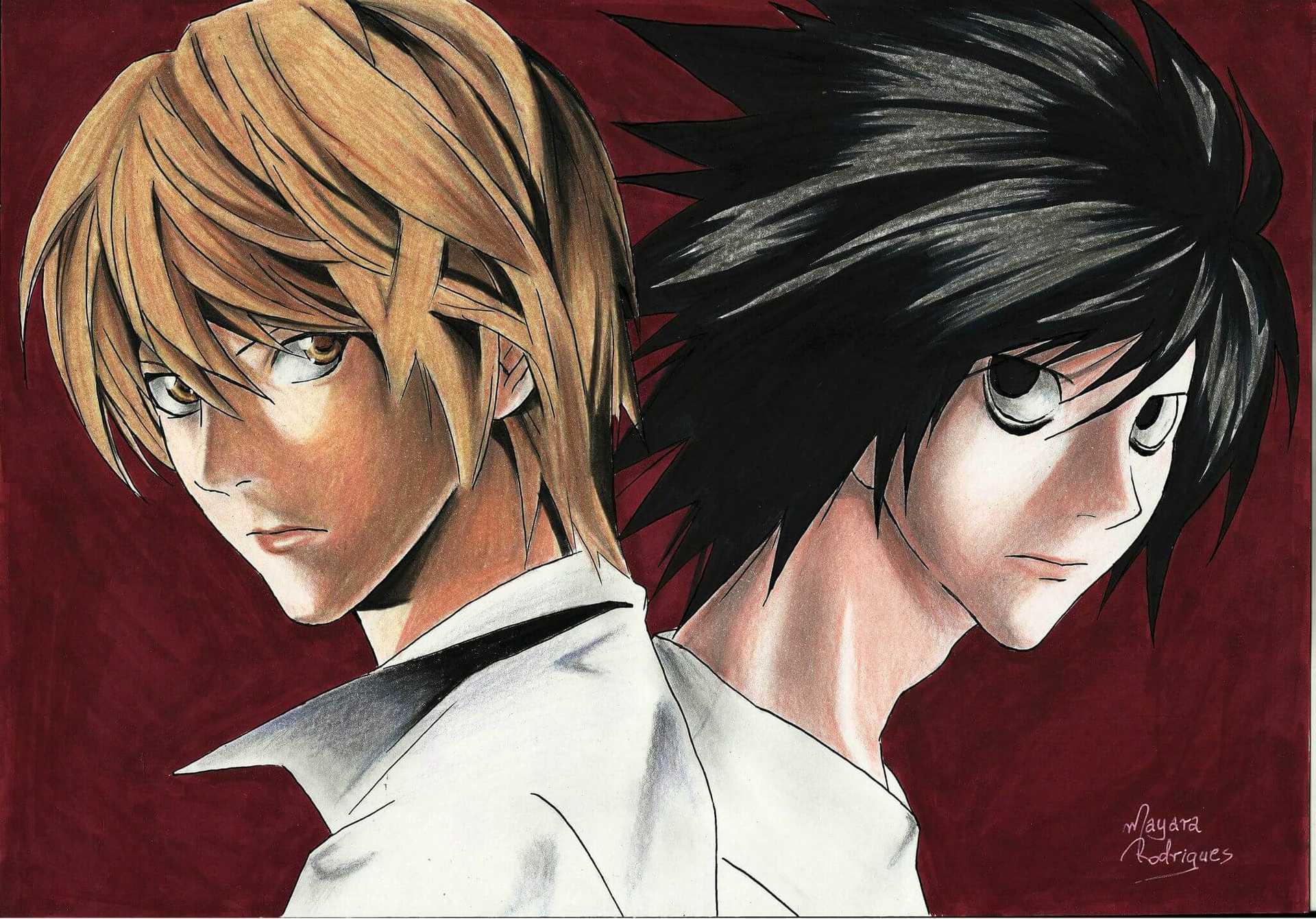 Desenho do Death Note