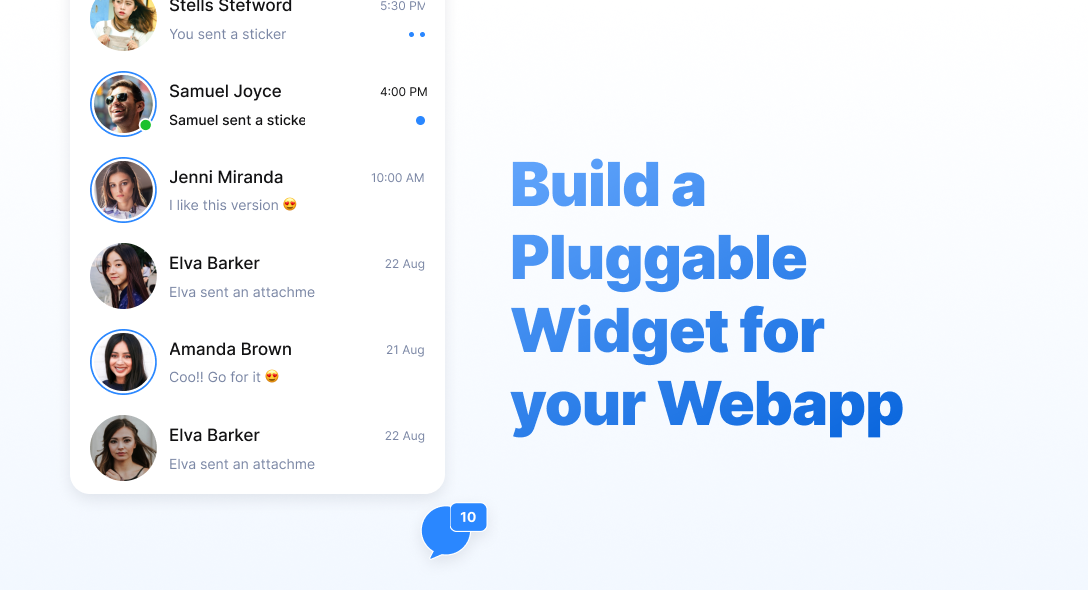 """Build a """"Pluggable"""" Widget for your Webapp"""