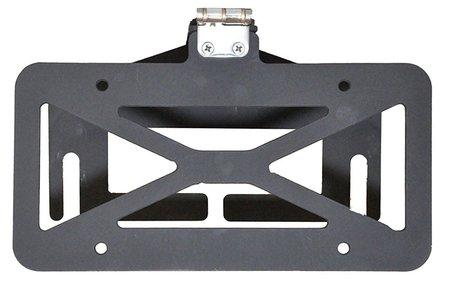 Pocono roller fairlead license plate mount