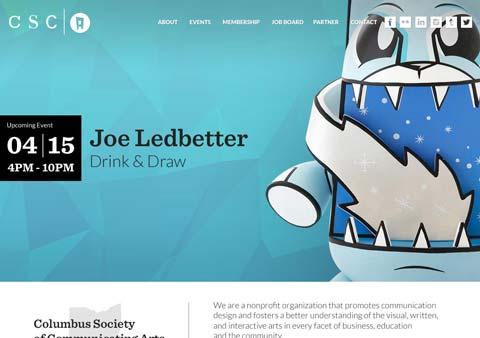 CSCA website screenshot