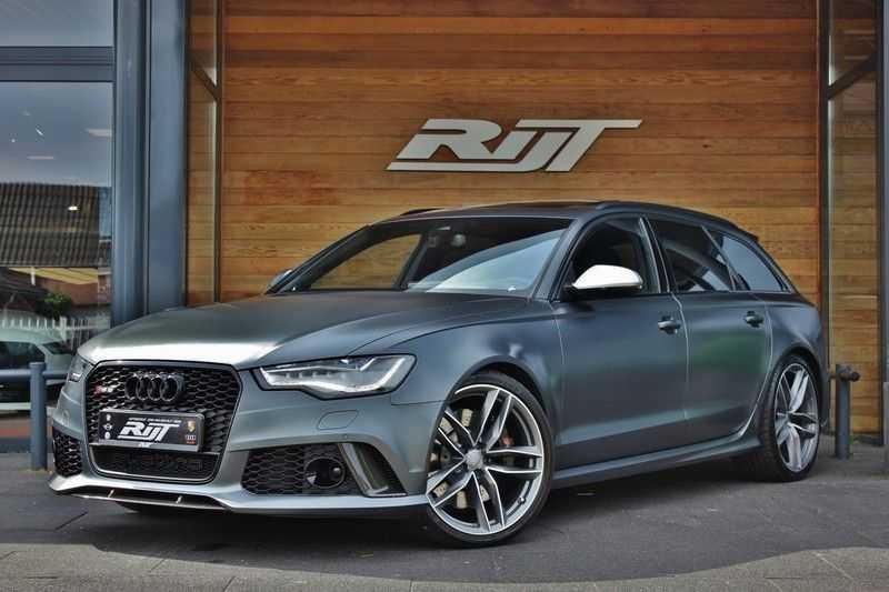 Audi RS6 4.0 V8 560pk Quattro **Carbon in.ext./HUD/Pano.dak/ACC/Bang.Olufsen** afbeelding 1