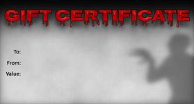 Gift Certificate Template Halloween 03
