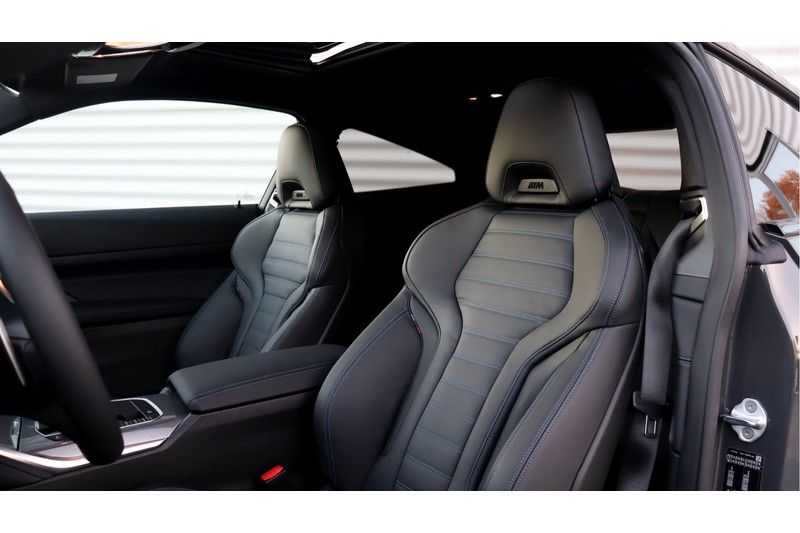 BMW 4 Serie Coupé M440i xDrive High Executive Harman/Kardon, Head Up Display, Schuifdak afbeelding 12