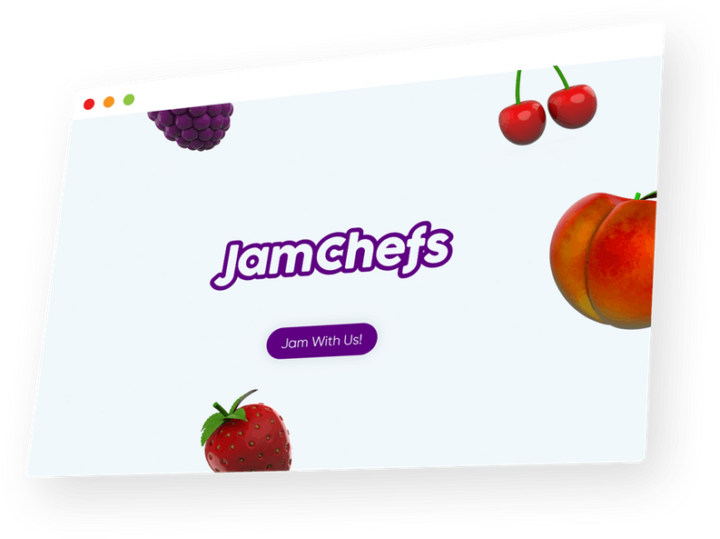 JamChefs hero banner