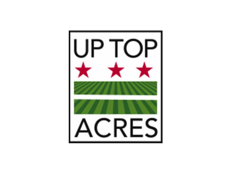 logo for uptop acres