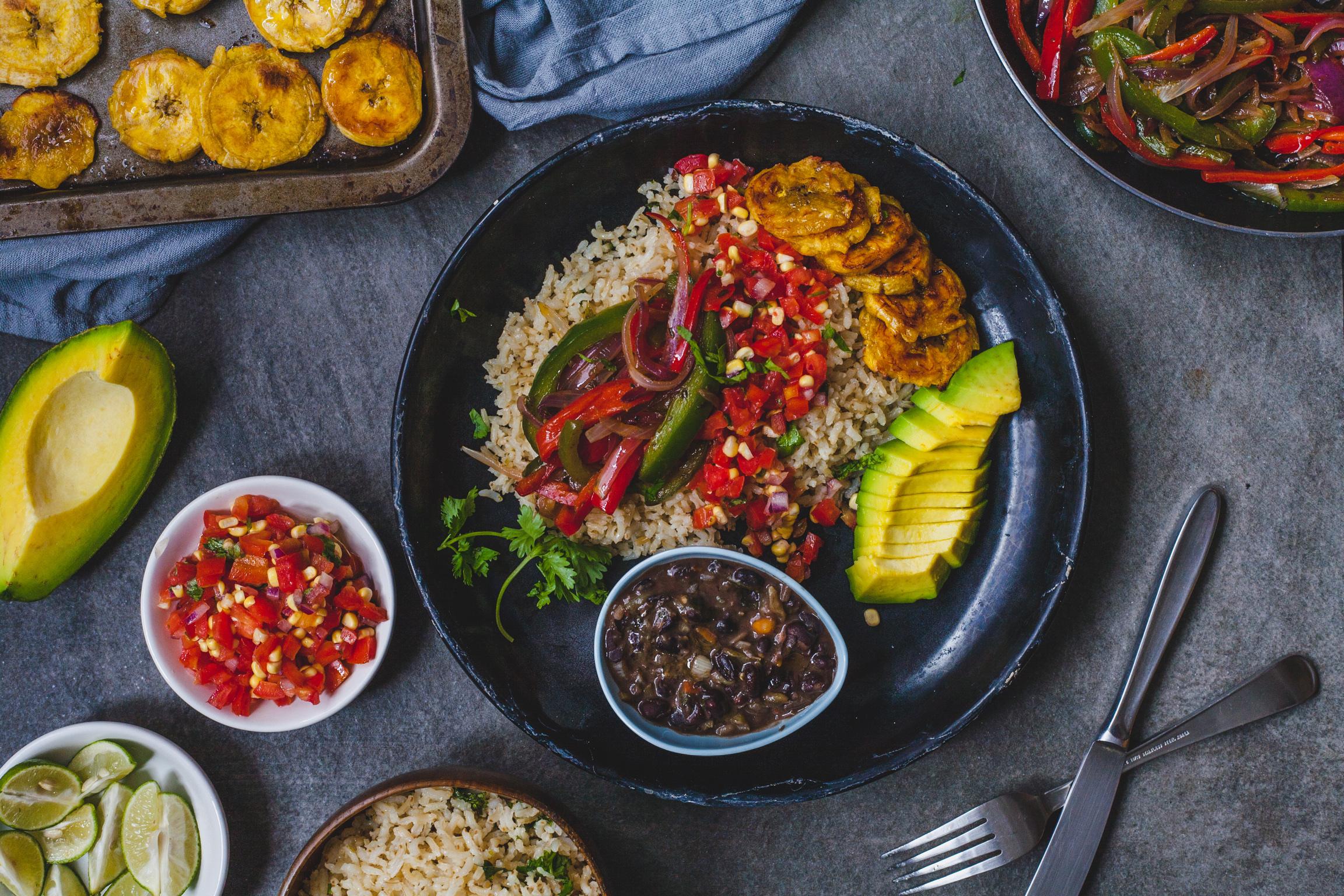 Vegan And Vegetarian Fiesta Bowl
