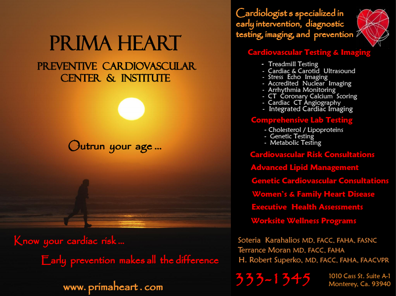 Carmel Pine Cone Ad
