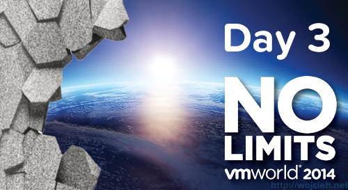 VMworld 2014 Barcelona – Day 3