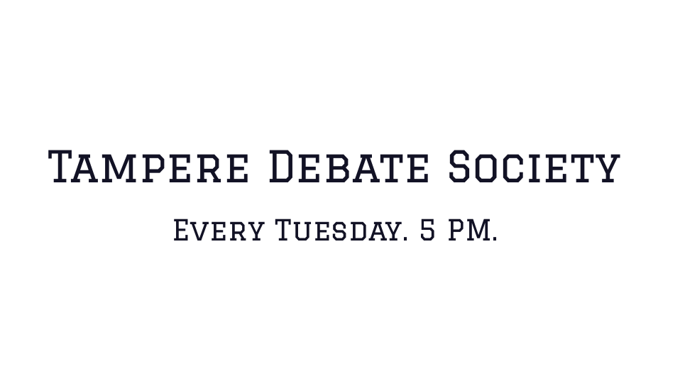 Every Tuesday. 5 PM.