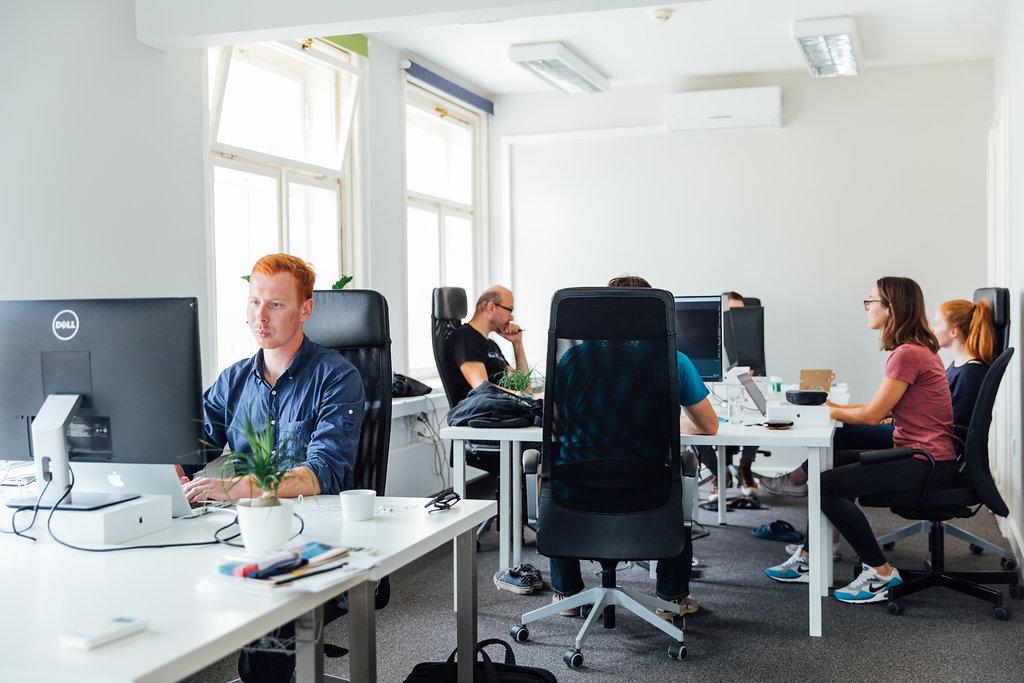 プラハの Memsource オフィス