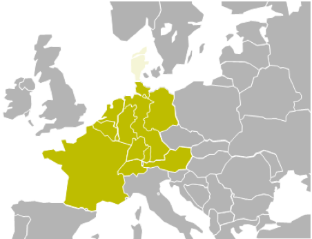 Map Of France Germany Switzerland.Frequency Containment Reserves Fcr