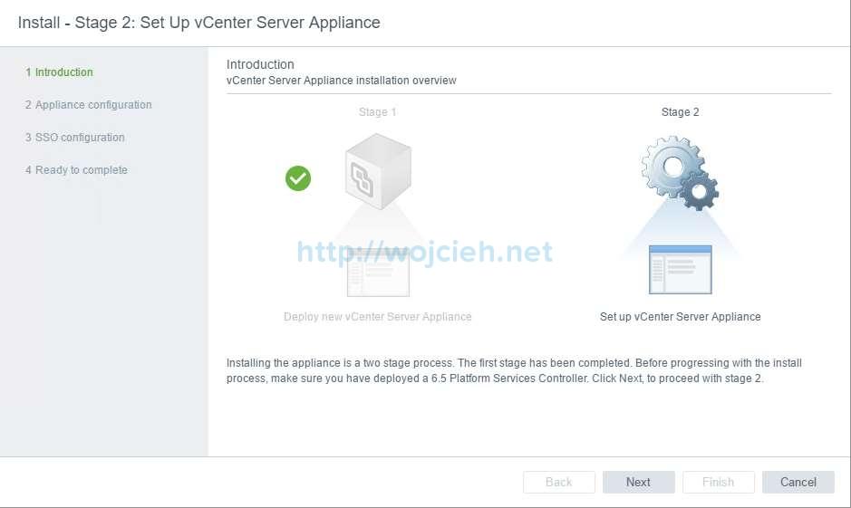 vCenter Server Appliance 6.5 with External Platform Services Controller - 30