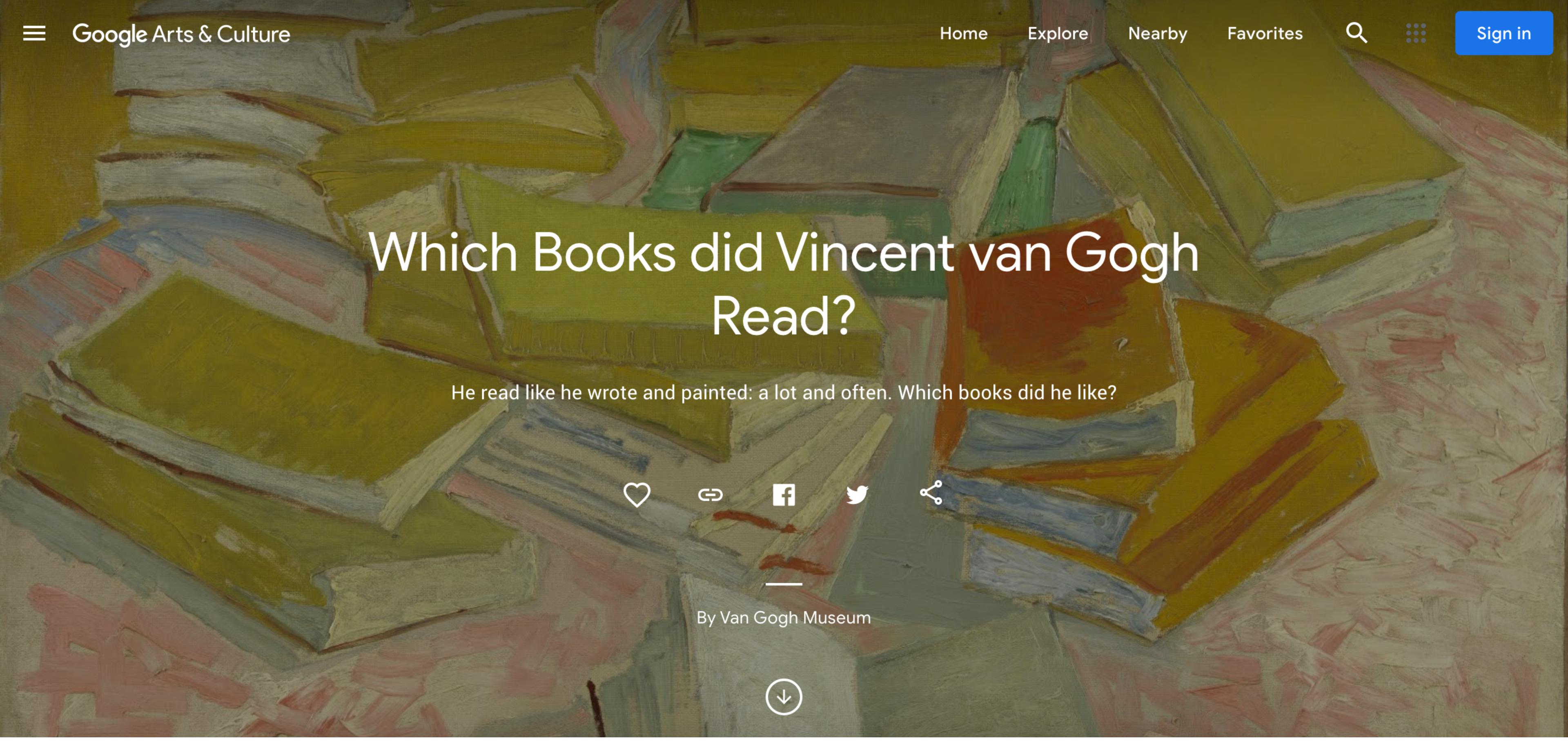 Van Gogh screengrab