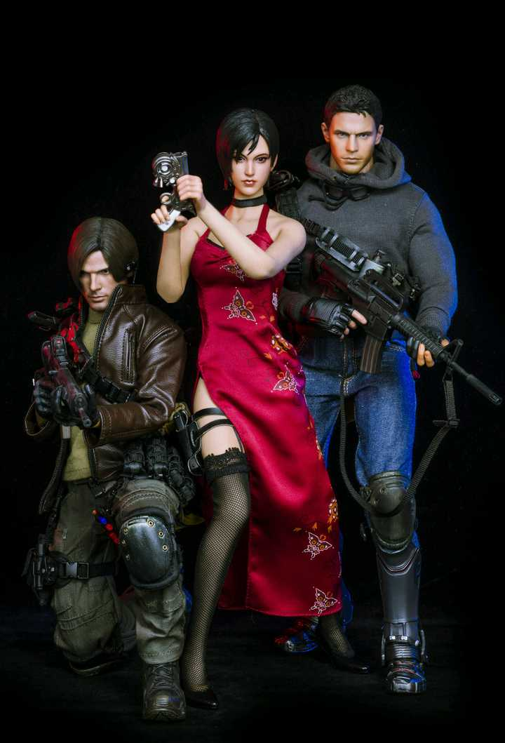 Hot Toys Resident Evil Series Collection Figures