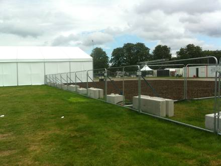 Concrete Barriers + Event Fencing Supplied to the Olympic Park