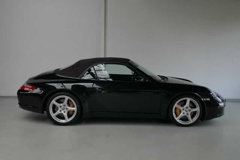 Porsche 911 Cabrio 3.8 Carrera S Keramisch - Sport chrono afbeelding 10
