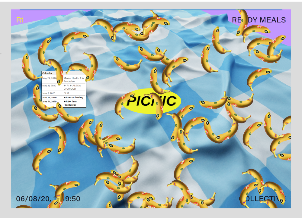 picnic collective website screenshot