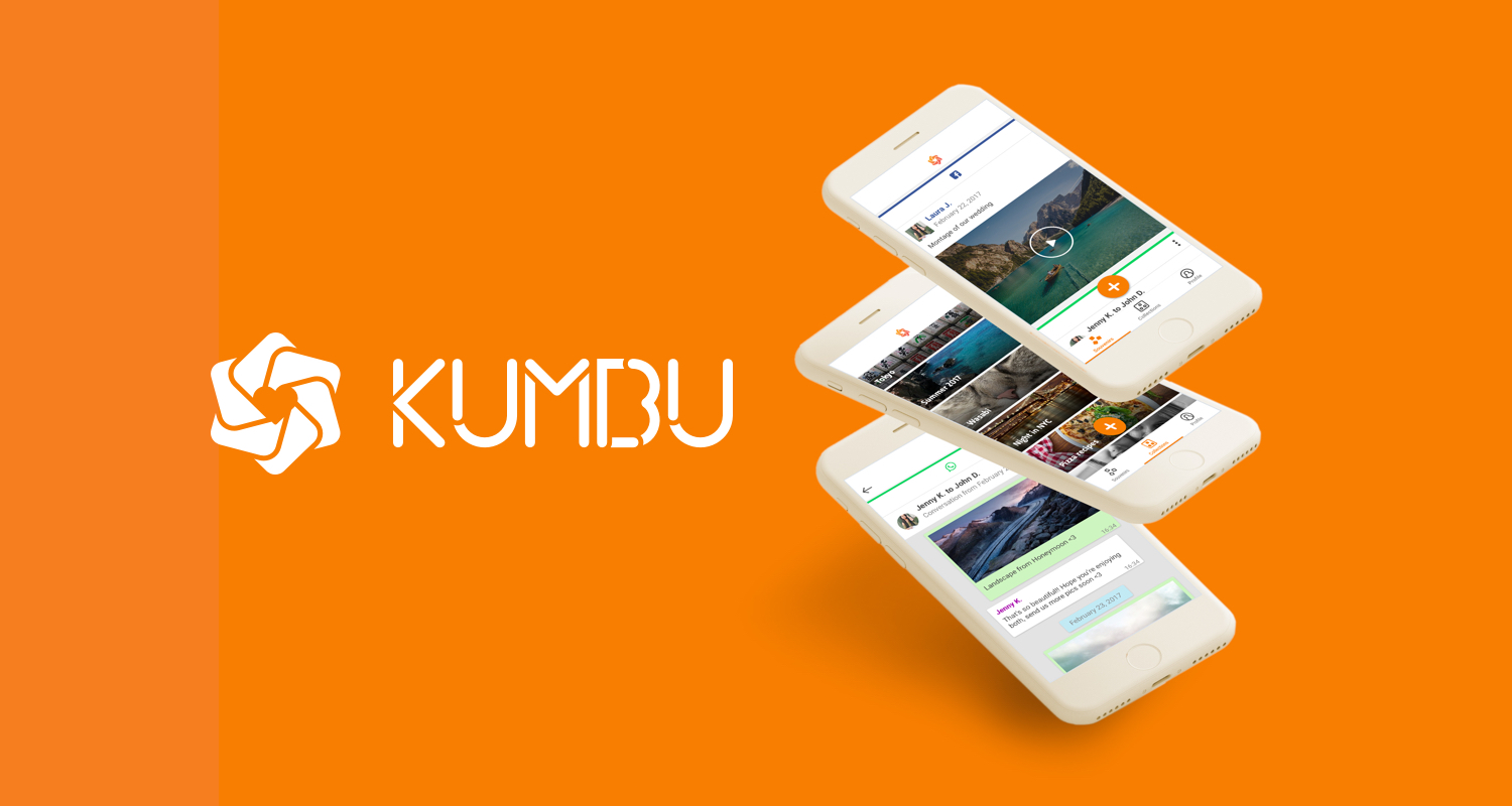 Save digital memories with Kumbu for iOS and Android