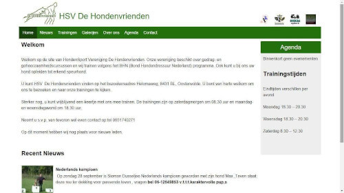 HSV De Hondenvrienden screenshot