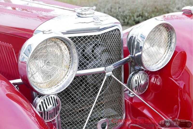 Jaguar SS100 3.5 Roadster / Heritage Trust Certificate / RHD afbeelding 17