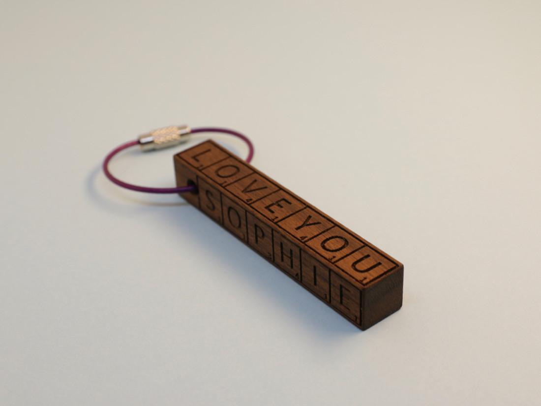 Schlüsselanhänger von RUPPERTdesign.