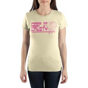 "SpongeBob SquarePants ""Keep It Krusty"" Short-Sleeve Women's T-Shirt"