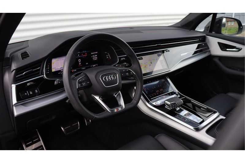 Audi SQ7 4.0 TDI 435pk quattro 7p Panoramadak, BOSE, Massage, Ruitstiksel, Trekhaak afbeelding 4