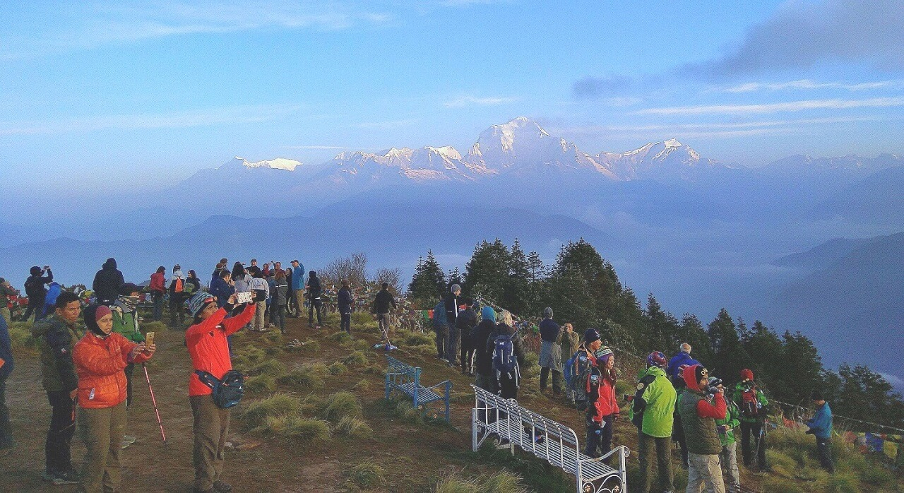Poonhill View Point in Annapurna Region