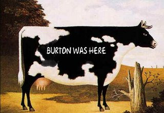 Burton was here