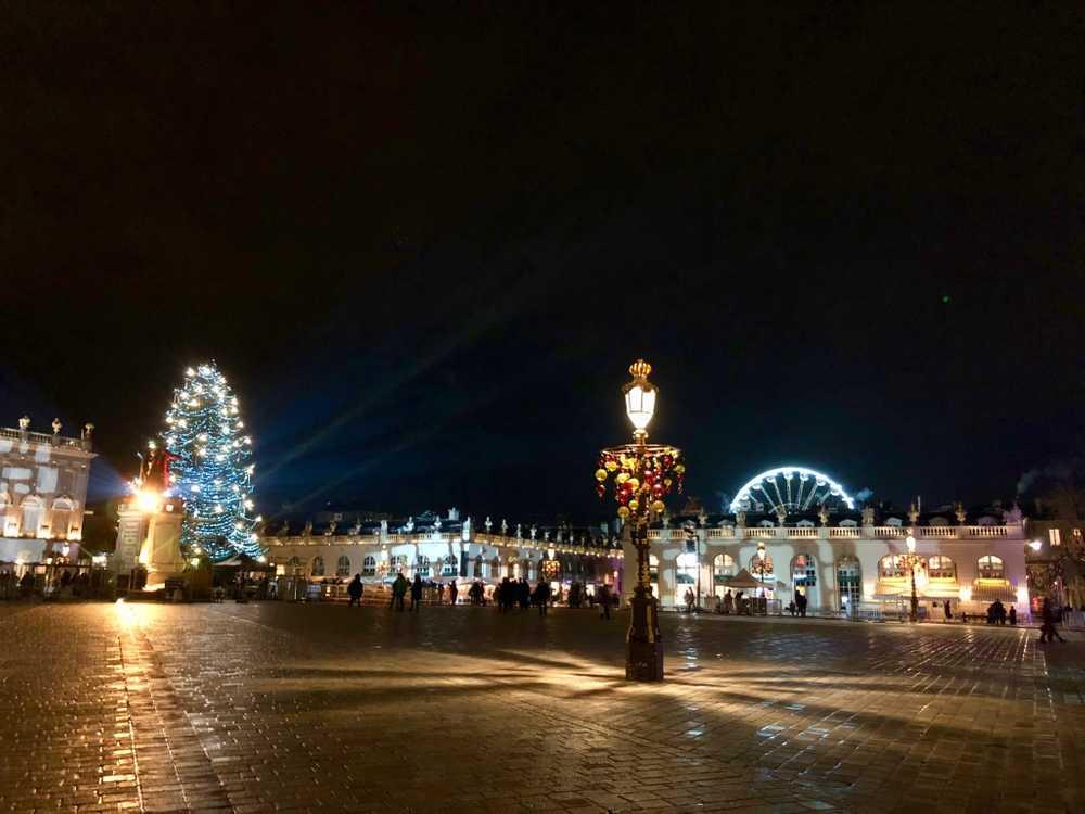 Place stanislas hiver nancy