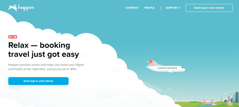 hopper homepage