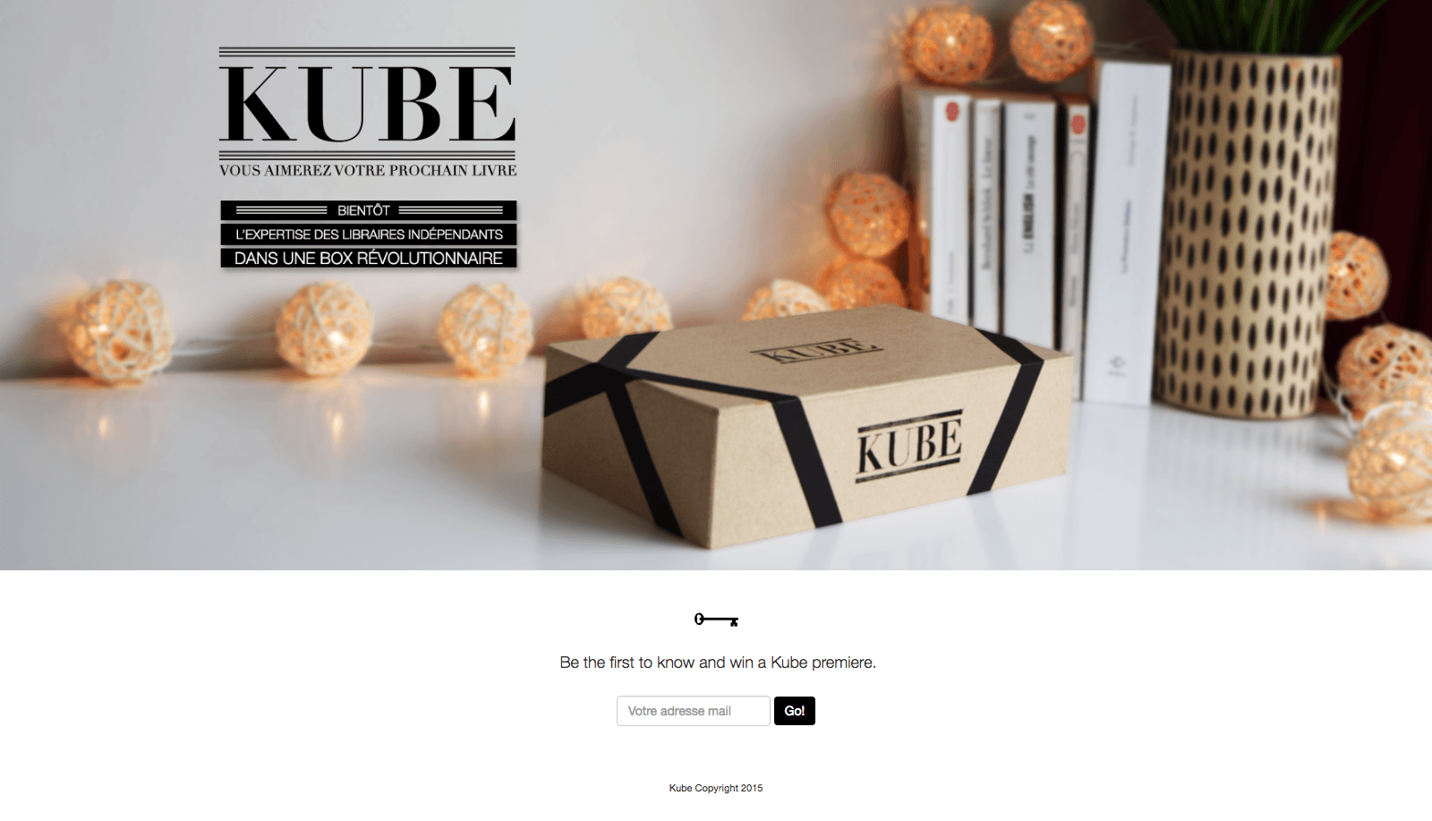Kube  you will love your next book