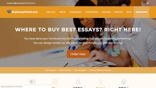 buyessayfriend.com main page