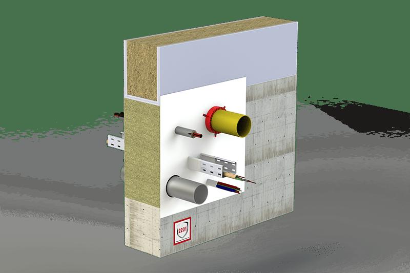 Protupožarno brtvljenje svih vrsta instalacija (kabeli i cijevi)